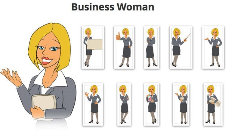 Business-Woman-SVG-Preview