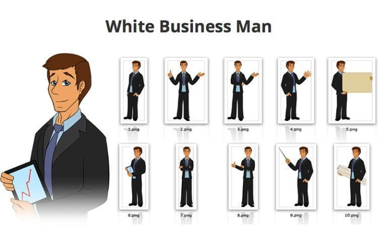 Businessman-SVG-Preview