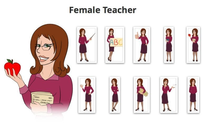Female-Teacher-SVG-Preview