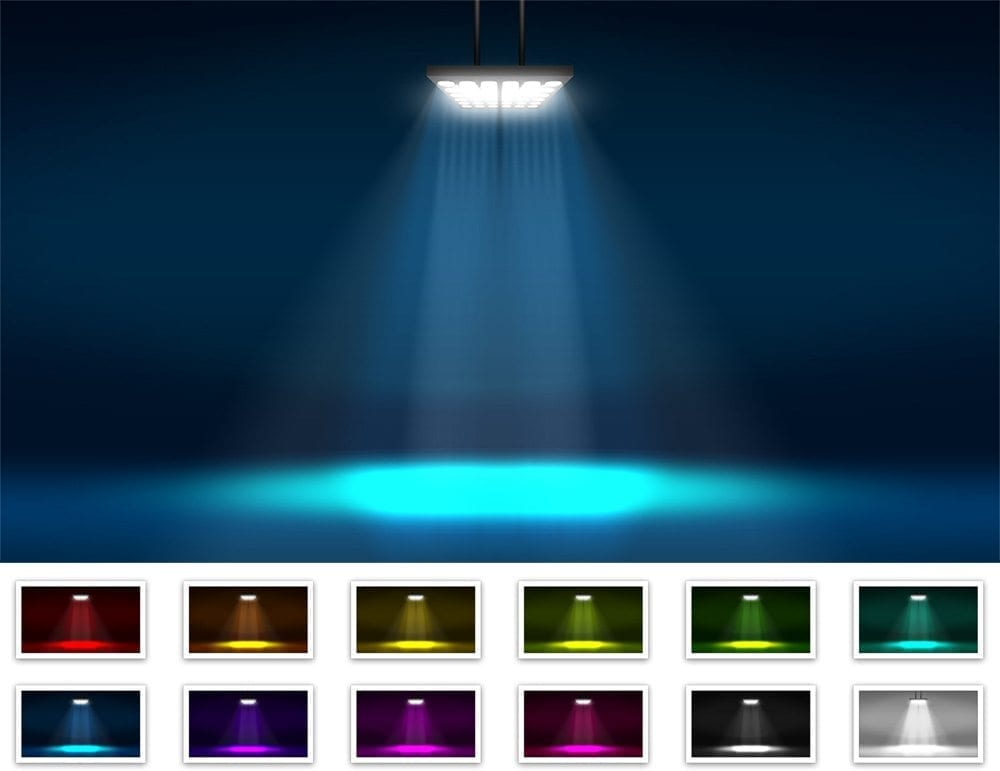 Lamp-With-Spotlight-Backgrounds-Preview