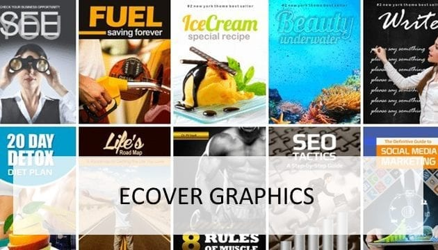 eCover Graphics for sale